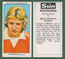Blackpool Billy Ronson